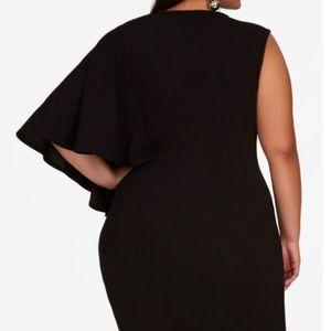 ASHLEY STEWART One Shoulder Dress | Size 22/24